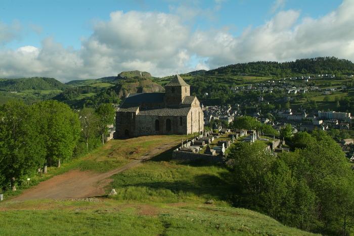 Journées du patrimoine 2018 - Visite du site clunisen de Bredons.