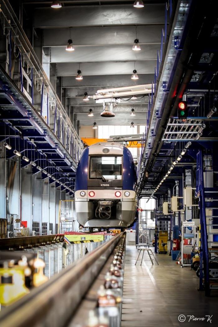 Journées du patrimoine 2018 - Visite du Technicentre Alsace de Mulhouse