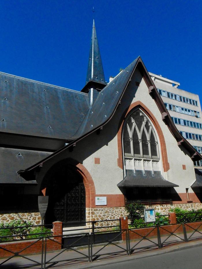Journées du patrimoine 2018 - Visite commentée du Temple Protestant de Levallois-Clichy