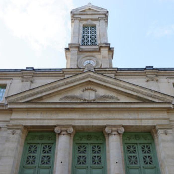 Journées du patrimoine 2018 - Visite commentée du temple protestant du Saint-Esprit et de la chapelle attenante