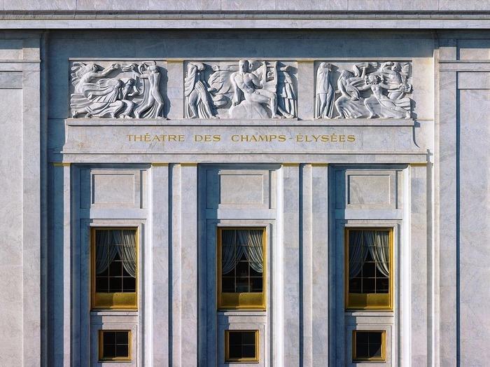 Journées du patrimoine 2018 - Visite du Theâtre des Champs-Elysées