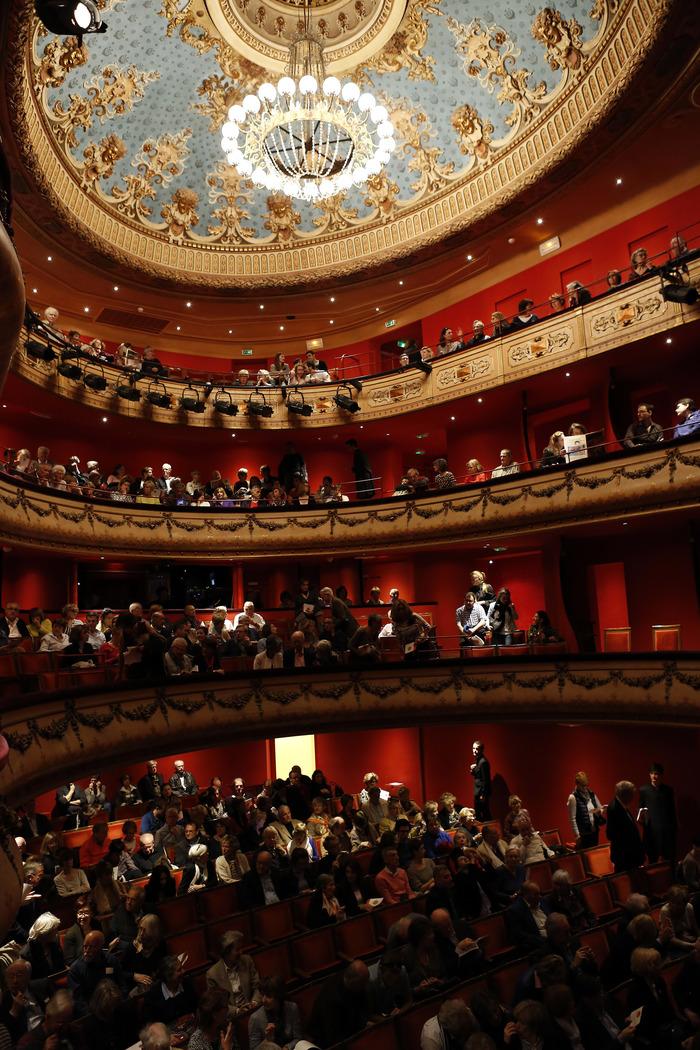 Visite du Théâtre du Jeu de Paume