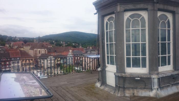 Journées du patrimoine 2018 - « Visitez » Saverne depuis le toit du château