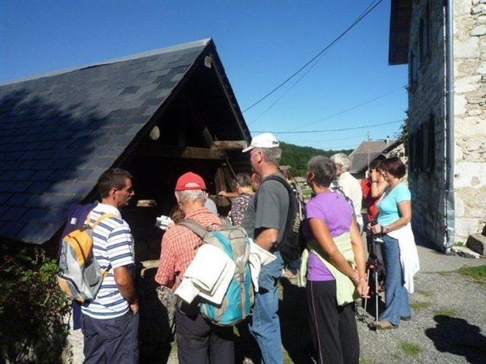 Journées du patrimoine 2018 - Circuit au coeur du village de Corbel.
