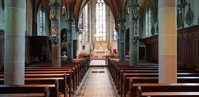 Journées du patrimoine 2018 - Visite libre de l'église Saint-Marcel