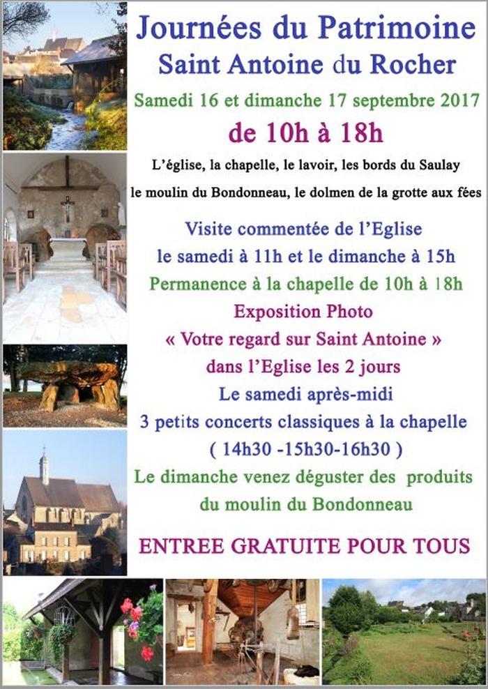 Journées du patrimoine 2017 - Visite guidée et commentée