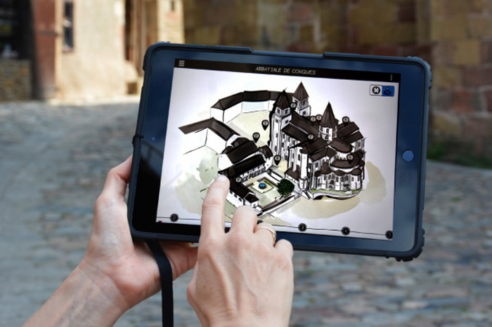 Journées du patrimoine 2019 - Visite libre avec une tablette numérique (abbatiale et Trésor)