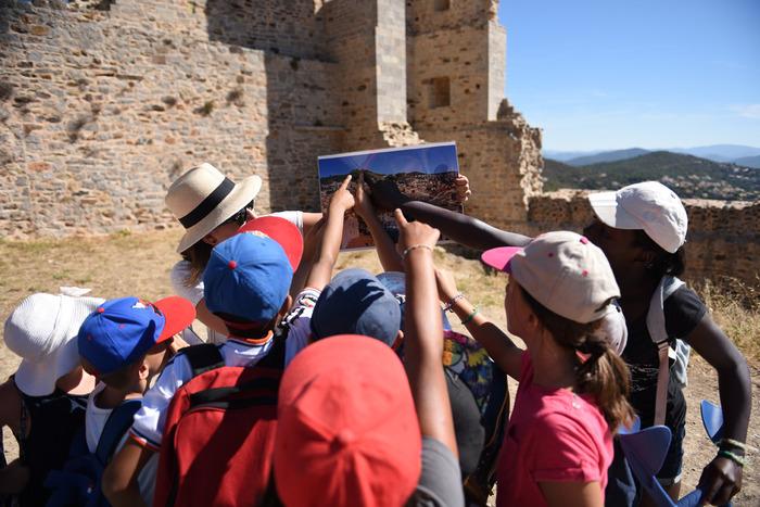 Journées du patrimoine 2018 - Visite en famille de l'exposition Les secrets du château d'Hyères