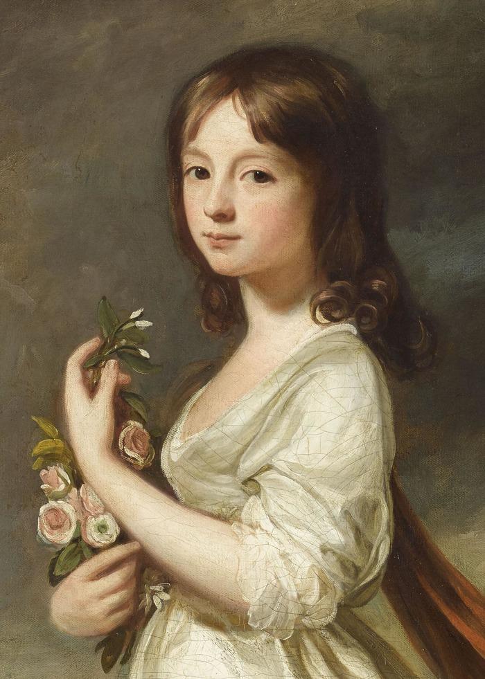 Crédits image : Fondation Bemberg - Georges ROMNEY, Portrait de Miss Frances Elisabeth Sage - XVIIIe s. - Huile sur toile