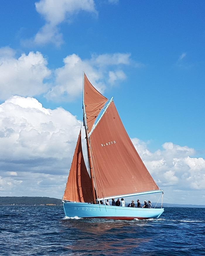 Journées du patrimoine 2018 - Visite et navigation à la voile à bord d'un voilier de travail