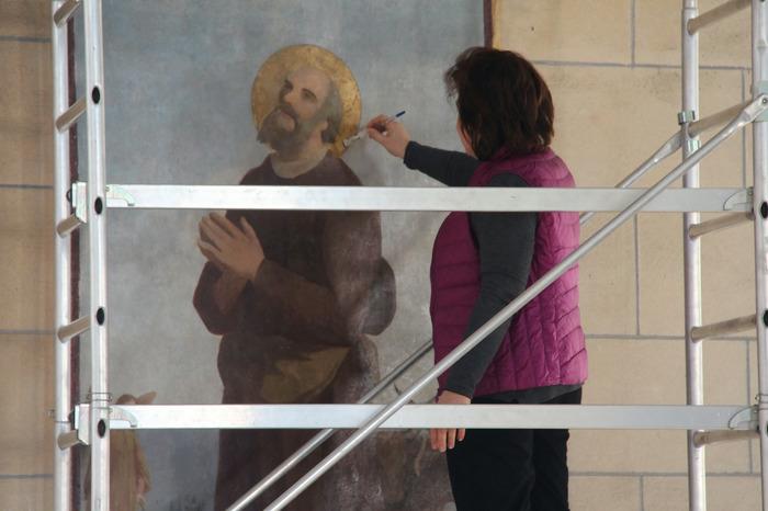 Journées du patrimoine 2018 - Visite et (re)découverte commentée des toiles rénovées de l'Eglise Saint-Hermeland