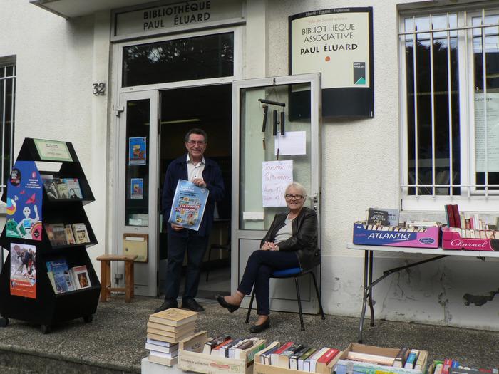 Journées du patrimoine 2018 - Visite et rencontres à la Bibliothèque associative Paul Eluard