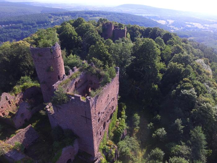 Journées du patrimoine 2018 - Visite exceptionnelle des châteaux d'Ottrott