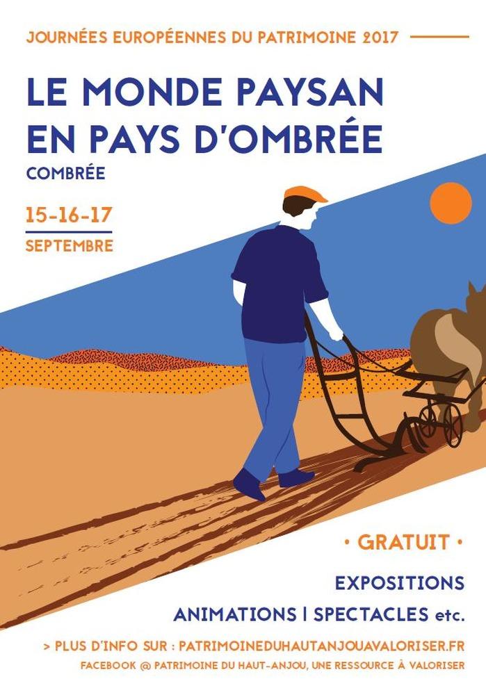 Journées du patrimoine 2017 - Visite, exposition, et divers ateliers à la ferme de la Guédonnière