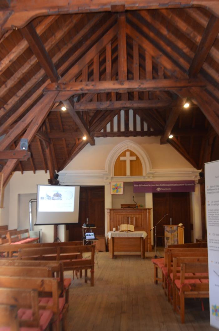Journées du patrimoine 2018 - Visite libre du Temple de l'Église réformée