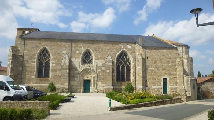 Journées du patrimoine 2018 - Visite flash (30 minutes) de l'église de Montournais, entre gothique et néogothique