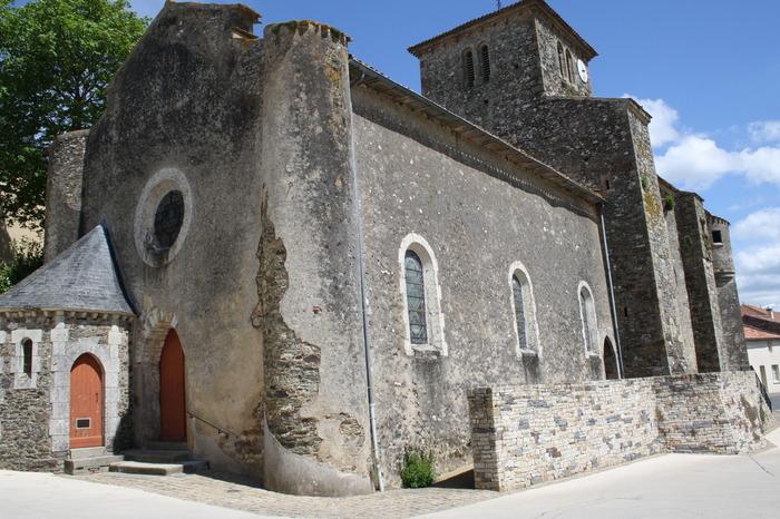 Journées du patrimoine 2018 - Visite flash (30 minutes) de l'église fortifiée de Réaumur