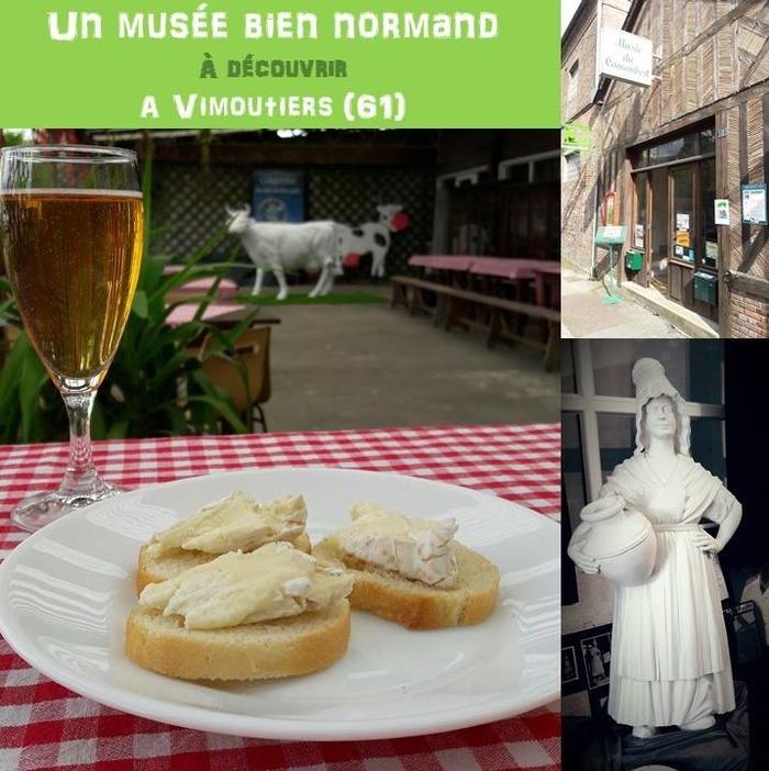 Crédits image : © Musée du camembert - Conservatoire des traditions du Pays d'Auge