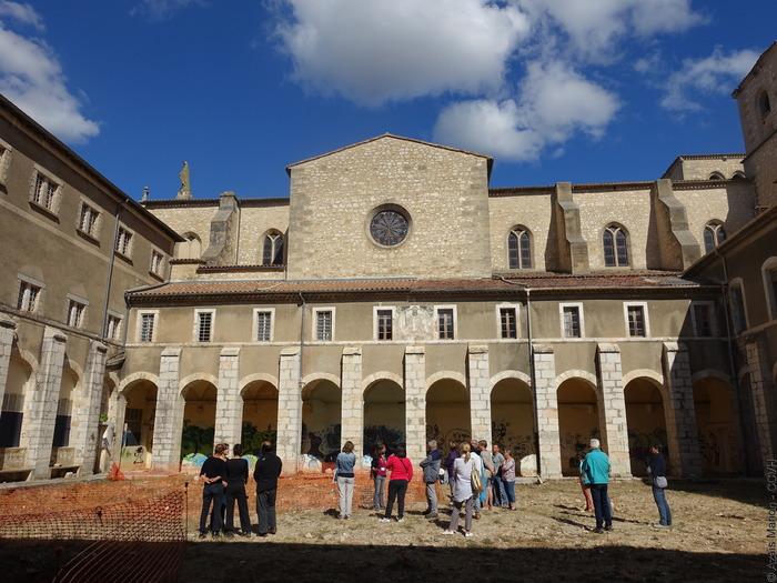 Journées du patrimoine 2018 - Visite guidée à deux voix de l'abbaye d'Aniane