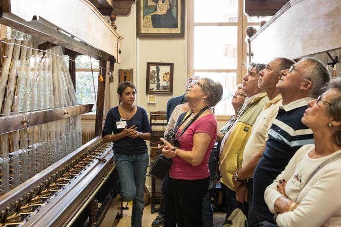Journées du patrimoine 2018 - Visite guidée : ancien atelier de passementerie.
