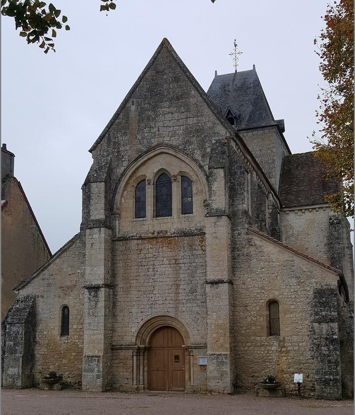 Journées du patrimoine 2018 - Visite guidée de l'ancienne cité féodale et de l'église de transition XII-XIIIème siècle de Saint-Vérain