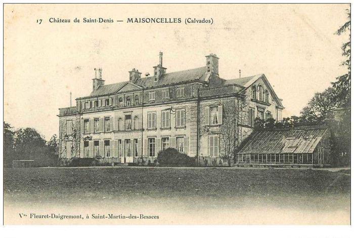 Journées du patrimoine 2018 - Visite guidée du château de Saint-Denis Maisoncelles
