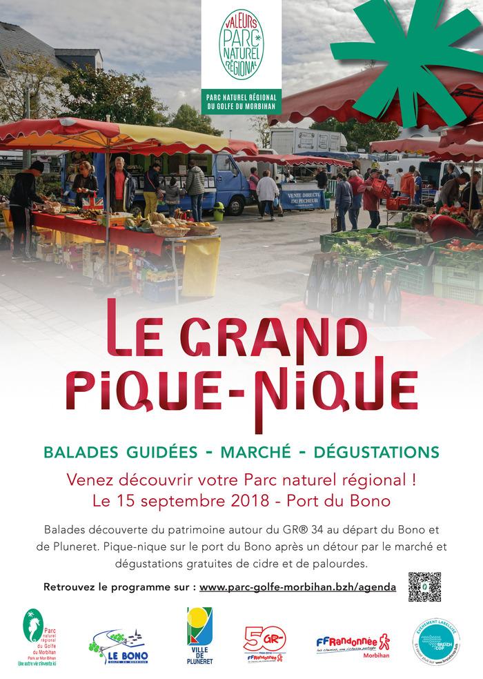 Journées du patrimoine 2018 - Visite guidée au départ de La Chapelle-Ste-Avoye, en direction du vieux pont du Bono