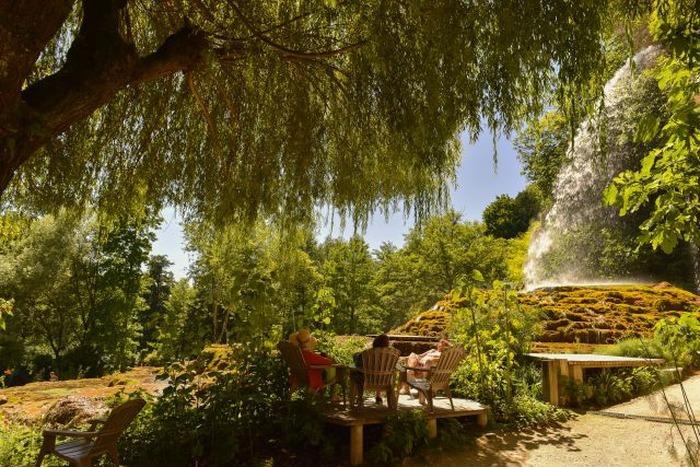 Journées du patrimoine 2018 - Visite guidée du jardin des fontaines pétrifiantes.