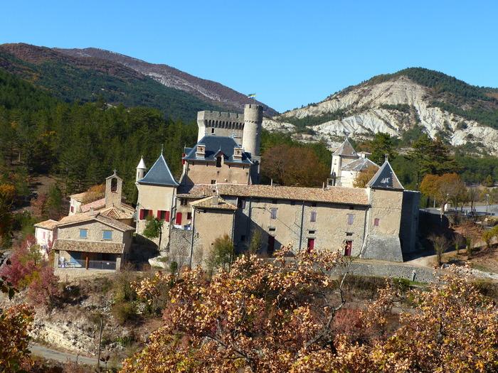Journées du patrimoine 2018 - Visite commentée du château d'Aulan.