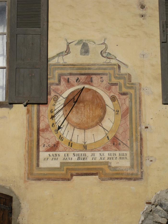 Journées du patrimoine 2018 - Visite guidée - Cadrans solaires, à la bonne heure !