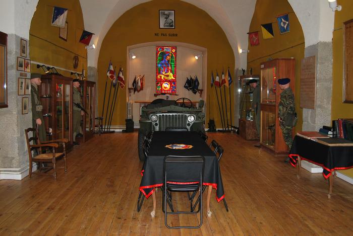 Journées du patrimoine 2018 - Visite guidée de la citadelle et de la salle d'honneur du CNEC-1er Choc