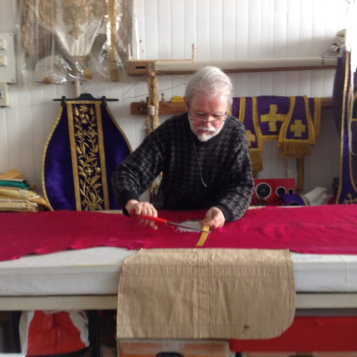 Journées du patrimoine 2018 - Visite guidée d'un atelier de restauration de broderie