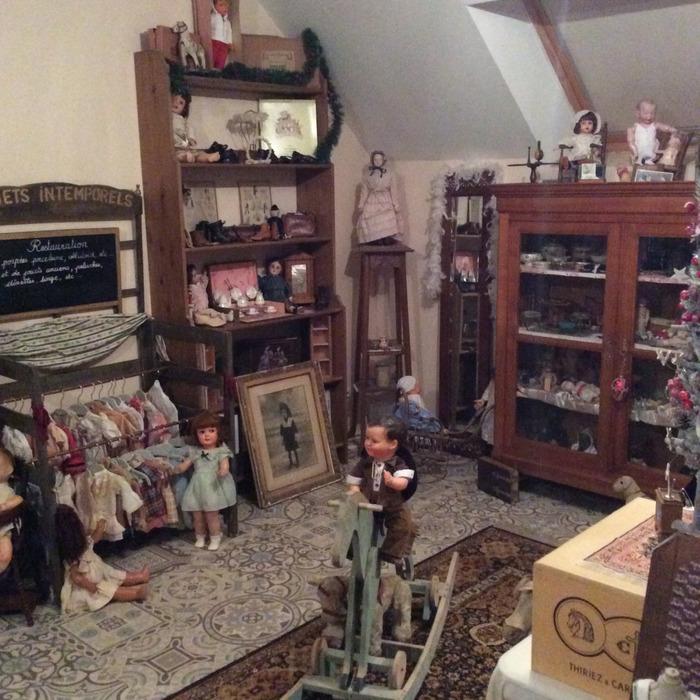 Journées du patrimoine 2018 - visite guidée d'un atelier de restauration de jouets anciens
