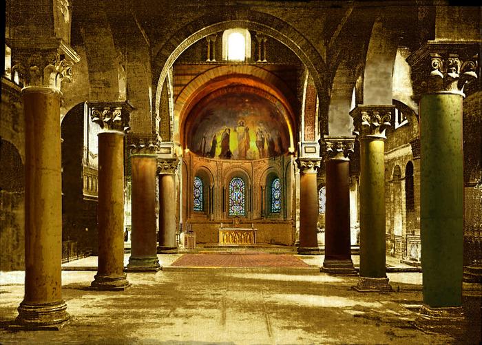 Journées du patrimoine 2018 - Visite guidée d'une abbatiale romane du XIIe : comprendre son symbolisme, partager la lecture de son message.