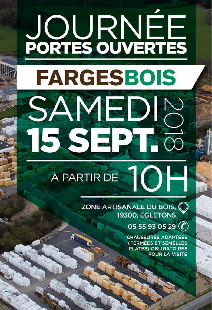 Journées du patrimoine 2018 - Visite guidée de Fargesbois, une industrie du bois au cœur du massif limousin.
