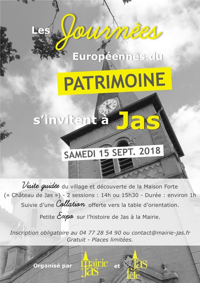 Journées du patrimoine 2018 - Visite guidée de Jas.