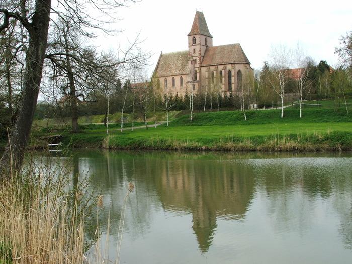Journées du patrimoine 2018 - Découverte de l'abbatiale de Walbourg des XIIe et XVe siècles.