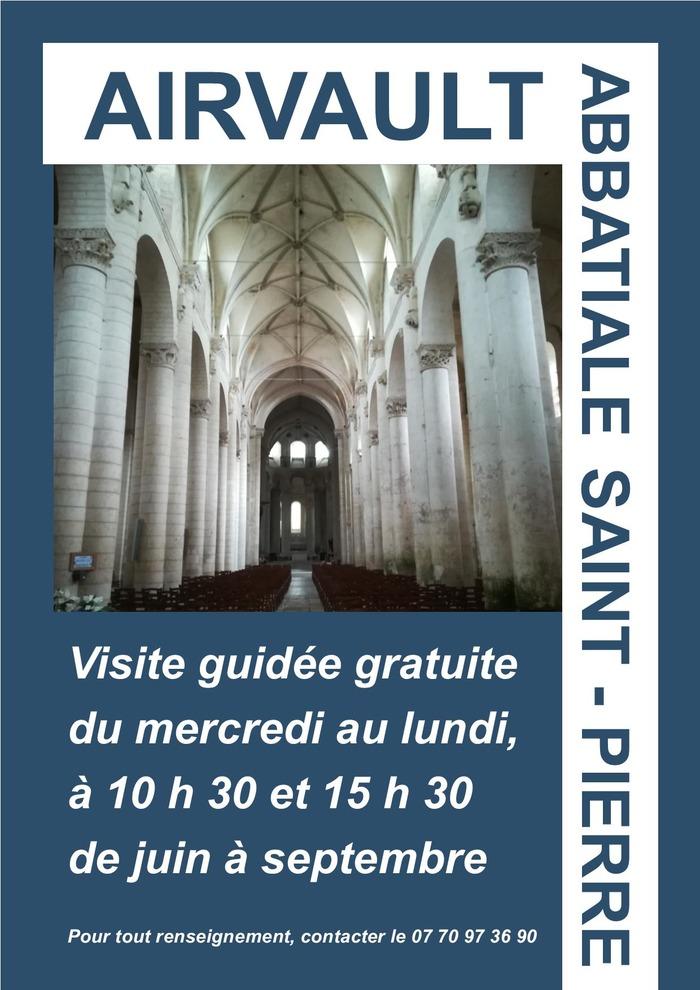 Journées du patrimoine 2018 - Visite guidée de l'abbatiale Saint-Pierre d'Airvault