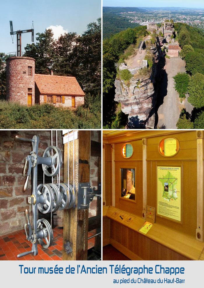Journées du patrimoine 2018 - Visite guidée de l'Ancien Télégraphe optique Chappe du Haut-Barr par Saverne