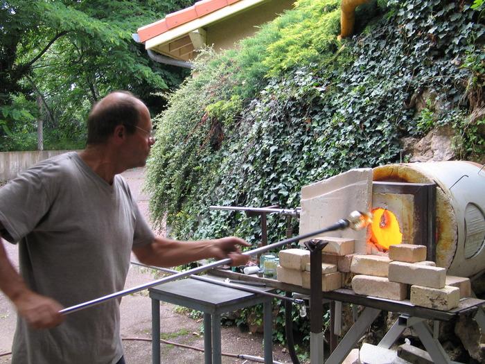 Journées du patrimoine 2018 - Visite guidée de l'atelier du souffleur de verre.