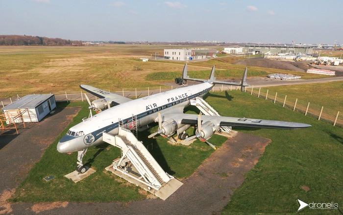 Journées du patrimoine 2018 - Visite guidée de l'avion Lockheed L1049 G Super Constellation F-BGNJ