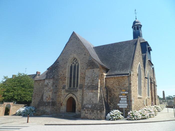 Journées du patrimoine 2018 - Visite guidée de l'Eglise de Livré-la-Touche, journées du Patrimoine