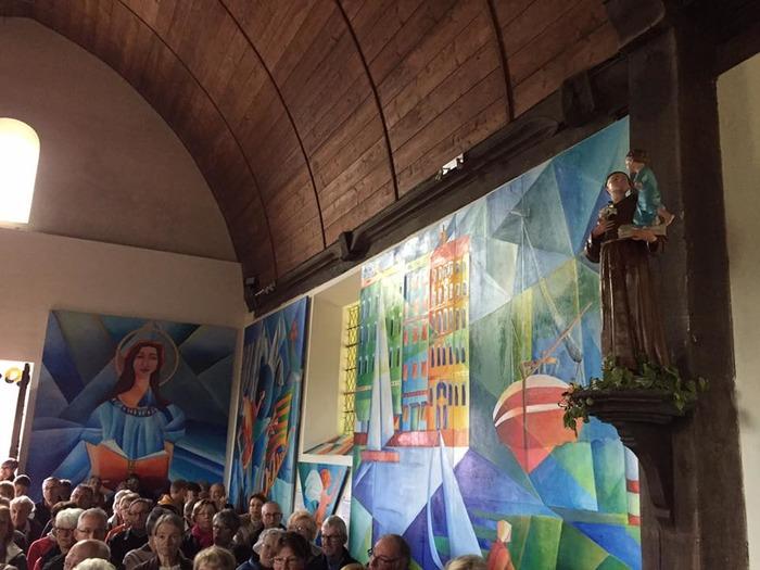 Journées du patrimoine 2018 - Visite guidée de l'église du bas d'Ajou
