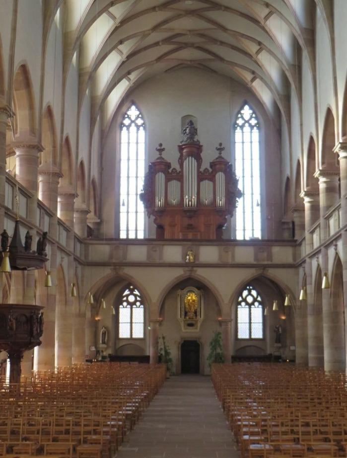 Journées du patrimoine 2018 - Visite guidée de l'église jésuite de Molsheim et de son orgue