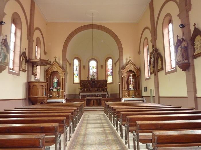 Journées du patrimoine 2018 - Visite guidée de l'église Raon lès Leau