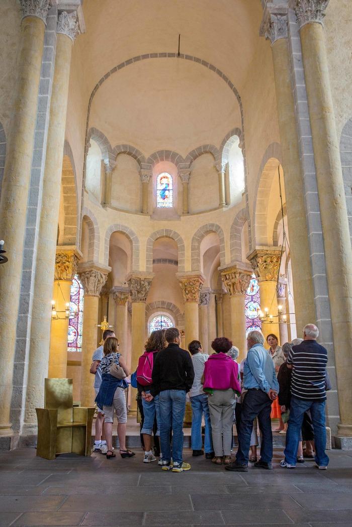Journées du patrimoine 2018 - Visite guidée de l'église romane de Saint-Nectaire.