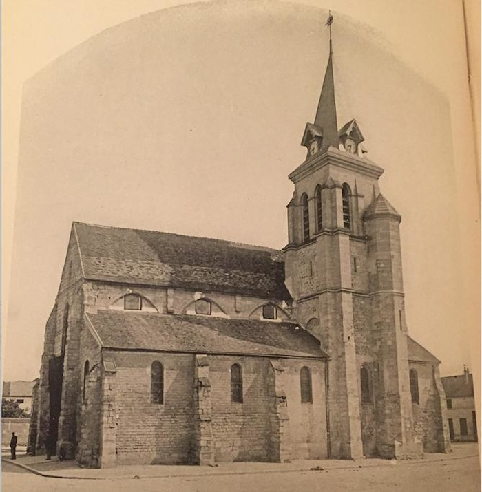 Journées du patrimoine 2018 - Visite guidée de l'église Saint-Baudile à Neuilly-sur-Marne, avec conférence.