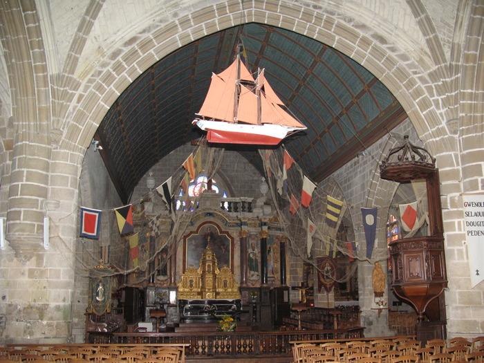 Journées du patrimoine 2018 - visite guidée de l'église Saint-Guénolé
