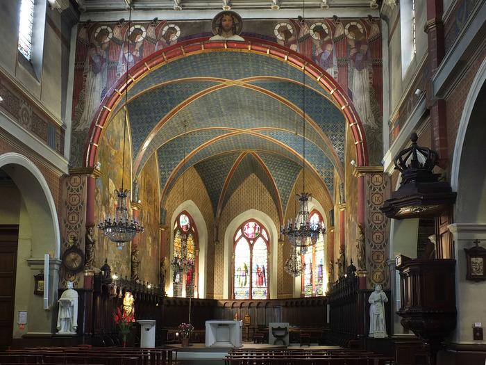 """Journées du patrimoine 2018 - Visite commentée de l'église Saint-Louis par """"Histoire et Patrimoine de Saint-Étienne""""."""
