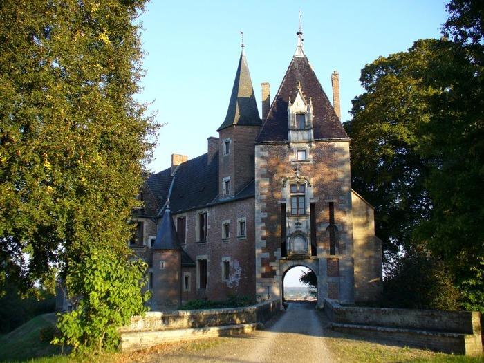 Journées du patrimoine 2018 - Visite guidée de l'Église Sainte-Madeleine  du XVème siècle et du parc du Château d'Auvillars-sur-Saône